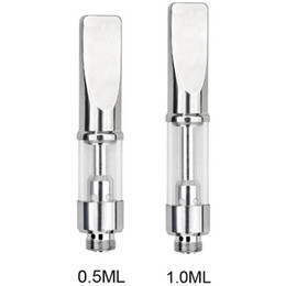 $enCountryForm.capitalKeyWord Australia - 92A3 Pyrex Glass Cartridges 510 Thread A3 Dual Coil Tank 92A3 Dry Herb Thick Oil Vape Pen for BUD Touch Preheating Battery
