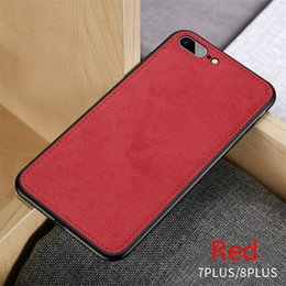 $enCountryForm.capitalKeyWord Australia - New Fabric Ultra-thin Canvas Silicon Phone Case For iphone 7 8 6 6s Plus X Xs Max Xr Cloth Texture Soft Protective Cover Coque