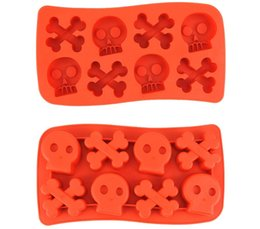 $enCountryForm.capitalKeyWord Australia - Skull Mold Silicone Ice Molds Ice Trays Cookie Cutter Mold Cooking Tools Ice Cream Tools