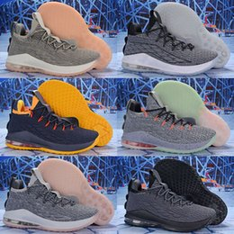 39ef7a2b9fe 2019 Lebron James XV 15 Low Star Wolf Grey Pink Home Mens Basketball shoes  Kids Shoes Sports Top quality Cheap 15s Zapatilla Sneakers