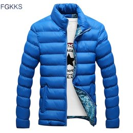 $enCountryForm.capitalKeyWord Australia - FGKKS Fashion Brand Men Parka 2018 Autumn Winter Jacket Men Thick Hooded Parka Coats Casual Padded Men's Jackets Male Coat