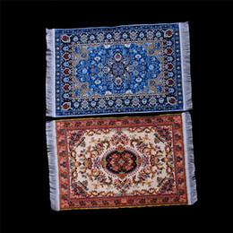$enCountryForm.capitalKeyWord Australia - 1:12 Doll House Miniature Turkish Style Carpet Miniature Embroidery Cloth Mat for 1 12 Dollhouse Small Furniture Toys Kids Gift