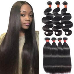 Wholesale Unprocessed Cheap a Brazilian Straight Virgin Human Hair Bundles Peruvian Body Deep Wave Kinky Curly Human Hair Weaves Extention Natural