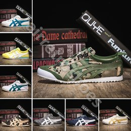 Camouflage boots men online shopping - 2019 Onitsuka Tiger Casual Shoes Camouflage Canvas For Men Women Athletic Outdoor Boots Brand Sports Mens Chassures Designer Shoe Size