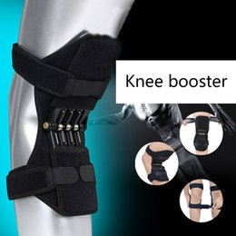 Patella knee suPPort brace online shopping - 1pair Strap Non Slip Power Knee Stabilizer Pads Lift Spring Force Knee Tendon Brace Joint Support Pads Patella
