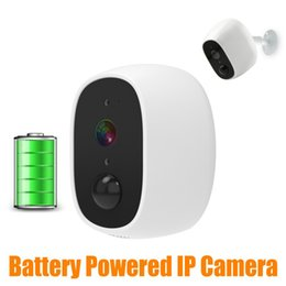 Camera Wireless Plug Australia - Low Power Battery IP Camera HD 1080P Outdoor Waterproof Wireless Home Security CCTV Camera with PIR Alarm 2 Way Audio