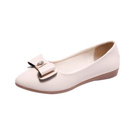 Rubber Bag Lady UK - Designer Dress Shoes YOUYEDIAN loafers women 2019 Flexible summer ladies pumps bag set Peas Lazy Casual schoenen vrouw hak en goud#11