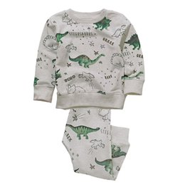 $enCountryForm.capitalKeyWord UK - Jumping Meters Brand Children Cotton Boy Clothing Sets Autumn Spring Printed Dinosaur Christmas Baby Suits For Boys 2-7t J190513