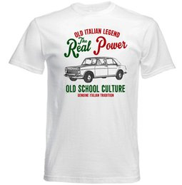 tshirt cars Australia - VINTAGE ITALIAN CAR INNOCENTI IM3 - NEW COTTON T-SHIRTFunny free shipping Unisex Casual Tshirt top