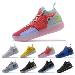 f5c473dc66ba Cheap KD 11 EP Elite Basketball Shoes KD 11s Men Multicolor Peach Jam Mens  Doernbecher Trainers Kevin Durant 10 EYBL All-Star BHM Sneakers