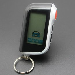 $enCountryForm.capitalKeyWord Australia - New A93 Vertical screen LCD Remote Control Key Fob Chain for Twage Starline A93 Two Way Car Burglar Alarm System keychain