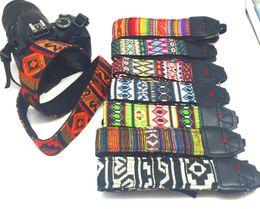 Dslr Camera Belt Australia - Colorful retro Vintage Style strip Canvas Camera Shoulder Neck Strap Belt for Nikon Canon Sony DSLR Camera z010