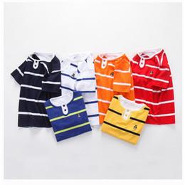 $enCountryForm.capitalKeyWord Australia - good quality Children New T-shirt Clothing Kids Boys Summer Fashion Cotton Striped Tees Clothing Baby Boys Short Sleeve Casual Tops