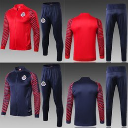 $enCountryForm.capitalKeyWord NZ - newest 2019 Survetement Chivas de Guadalajara Jacket Set Jerseys 2018 Club America UNAM 2019 A.PULIDO Football Shirts Training Suit Uniforms
