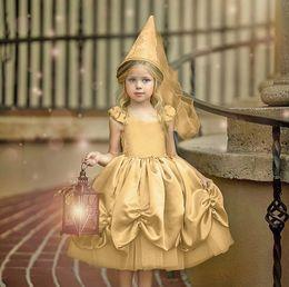 $enCountryForm.capitalKeyWord Australia - Girls dresses Ball Gown kids falbala fly sleeve cinderella dress Children's day party dresses summer girl lace tulle princess dress F7566