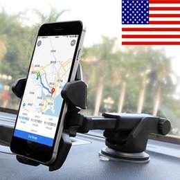 Wholesale USA Car Holder Windshield Mount Bracket For iPhone Mobile Cell Phone