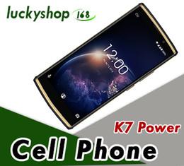 cell hd 2019 - OUKITEL K7 Power Android 8.1 Smartphones 2G RAM 16G ROM Octa Core 6.0inch HD 10000mAh Fingerprint Cell phones 5pcs DHL