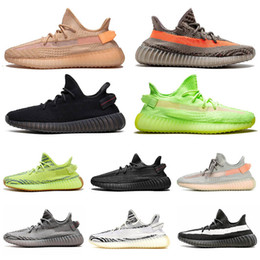 multi angle light Australia - 3m Refective 36-48 boost Black Angle Clay GID Glow Static Mens Running Shoes Antlia Synth Kanye West Beluge zebra Trainers Womens Sneakers