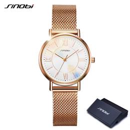 $enCountryForm.capitalKeyWord Australia - wholesale Rose Golden Watches Women Watch Thin Japan Quartz Clock High Quality Waterproof Wristwatch Gift for Girl New Montre Femme
