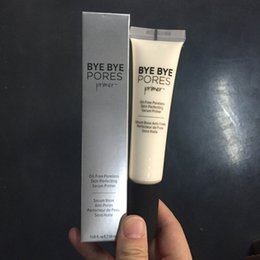 $enCountryForm.capitalKeyWord NZ - Brand Newest Cosmetics Bye Bye Pore Primer Oil Free Poreless Skin-Perfecting Serum Prime Long Lasting Pre-makeup Emulsion Concealer 30ml