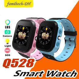 $enCountryForm.capitalKeyWord Australia - 2019 Cute Sport Q528 Kids Tracker Smart Watch with Flash Light Touchscreen SOS Call LBS Location Finder for kid PK Q50 GPS tracker in box