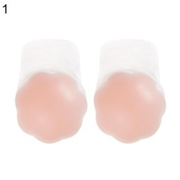 f1117b7889 100 pairs 1pair Instant Boob Lift Up Tape Petals Reusable Flower Silicone Nipple  Cover Breast Pasties