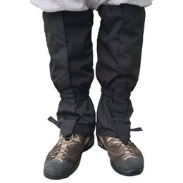 boot leg gaiters UK - Unisex Waterproof Legging Gaiter Leg Cover Camping Hiking Ski Boot Travel Shoe Snow Hunting Climbing Gaiters Windproof