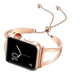 Band Straps Australia - Women watch band For Apple Watch bands 38mm 42mm 40mm 44mm,Stainless Steel bracelet for Apple Watch strap iWatch Series 4 3 2 1