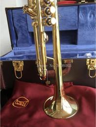 Bach LT180S-72 Profissionais Trompete Bb Tipo de Aço Inoxidável Pequeno Trompeta Latão Instrumentos de Prata Banhado Superfície Trumpete