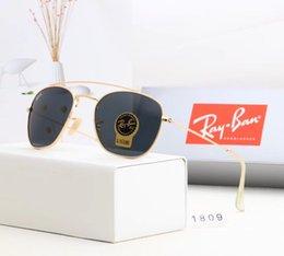 Glasses Sun Protection Australia - Top Quality G15 Glass Lens Men Women Polit Luxury Eyewear Sunglasses UV400 Protection Brand Designer Vintage Sun Glasses Case Box