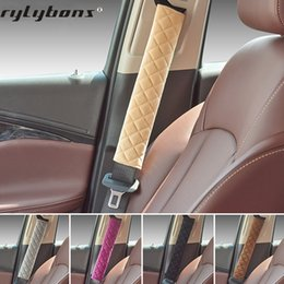 $enCountryForm.capitalKeyWord Australia - Baby Car Seat Belt Shoulders Pads Covers goods Warm Short Plush Safety Shoulder Protection Auto Interior Accessories Styling