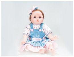 $enCountryForm.capitalKeyWord Australia - 55cm Silicone Lifelike Reborn Baby Doll Realistic Newborn Babies with Clothes Kids Playmate Best Birthday Xmas Gift