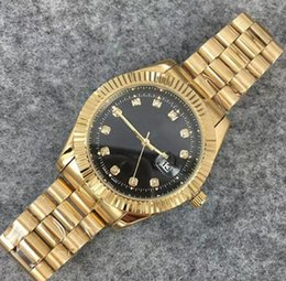 Product Brand Color Australia - Diamond Watch Master New Luxury Fashion Brand Product In Men And Women Date Of New Steel Clock Male Quartz Watches Automatic Movement