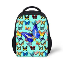 Bags Baby Children 3d UK - Customized 3D Butterfly Print School Bags for  Baby Girls Kindergarten 644a185a8bf51