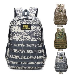 Wholesale travel backpack camouflage outdoor computer shoulders bag Oxford Brake chain middle school student bag colors