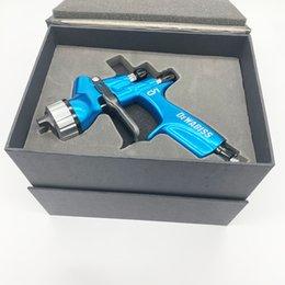 dewabiss pistola de pintura CV1 Airbrush arma airless spray para pintar carros em Promoção