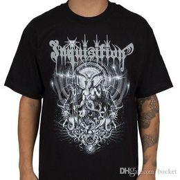 Engizisyon Majesteleri Gömlek XXL Resmi Tshirt Siyah Metal Grubu T-Shirt Yeni indirimde