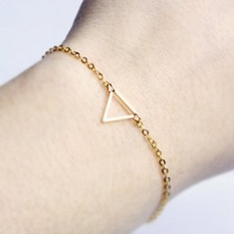 $enCountryForm.capitalKeyWord NZ - CHEAP BRIEF TRIANGLE ALLOY CHAIN BRACELET WEDDING VEIL BRIDAL ACCESSORIES JEWELRY SUPER NICE US UK TOP HOT ON SALE FASHION WRIST BRACELETS