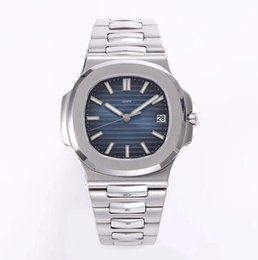 Wholesale Items Sold Australia - popular hot selling items silver case and band blue dial men automatic movement sapphire glass 316L stainless steel case and band best ones