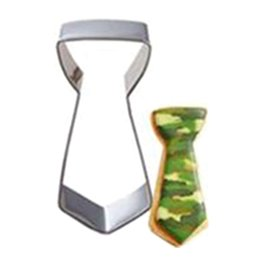 Baking Shape Cutter Australia - Men Style Design Stainless Steel Cookie Cutter Tie Beard Shape Metal Biscuit Mould Kitchen Baking Pastry DIY Tools