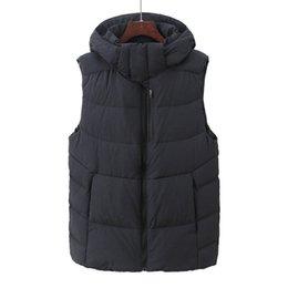 $enCountryForm.capitalKeyWord Australia - Factory direct sales 90% white duck down Coat Men down Vest collar men's cultivate one's morality Down sleeveless jacket NFA8
