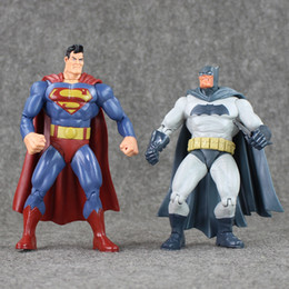 superman action toys NZ - Toys Hobbies Action Toy Figures Superheros Superman & Batman Dawn of Justice doll PVC action figure collection gifts for Kids Gift