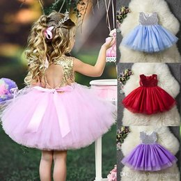 $enCountryForm.capitalKeyWord Australia - 2019 Baby Dress For Girls Sequins Tutu Birthday Party Wear Kids Clothes 1 2 3 4 5 Years Children Clothing Girl Ceremony Dresses