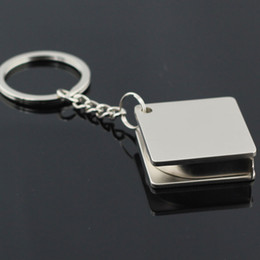 $enCountryForm.capitalKeyWord Australia - 2019 Portable Alloy Practical Tape Measure Shape Keychain Tool Simulation Key Chain Rings Stainless Steel Best Gift #13