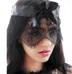 women face mask sex Australia - New Sexy Eyelash Lace Face Mask Goggles Nightclub Fashion Queen Female Sex Lingerie Cutout Eye Masks For Masquerade Party Mask
