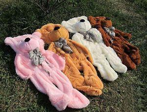 Venda quente! 60-300 cm Gigante Enorme Super Semi-acabado Teddy Bear Pele (sem algodão)