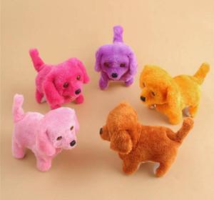 Presente de natal Eletrônico Cães Interativo Eletrônico Animais De Estimação Robô Cão Bark Stand Andar Brinquedos Eletrônicos Cão Para Crianças
