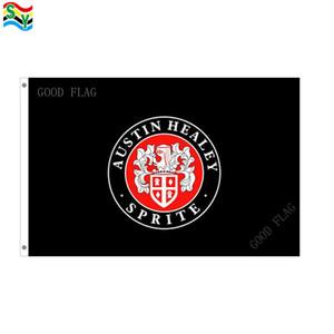 Bandiera AUSTIN HEALEY bandiera dimensioni 3x5FT 90 * 150cm con occhiello in metallo, bandiera esterna