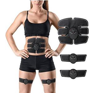 Kablosuz Kas Stimülatörü EMS Stimülasyon Vücut Zayıflama Güzellik Makinesi Karın Kas Egzersiz Eğitimi Cihazı Vücut Masajı WX9-179