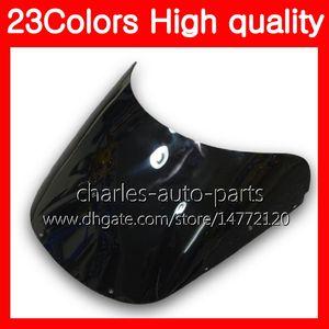 100% новый мотоцикл ветровое стекло для HONDA CBR400RR 87 88 89 NC23 CBR400 RR CBR 400RR 400 1987 1988 1989 хром Черный прозрачный дым лобовое стекло